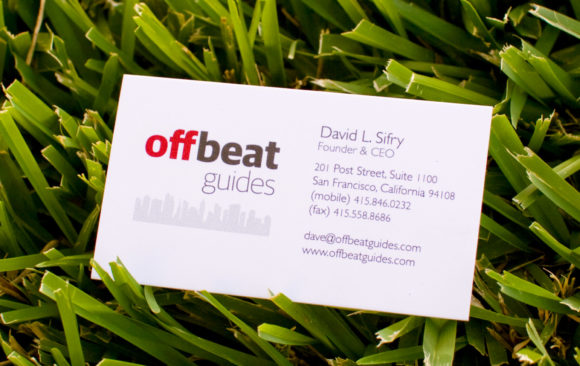Offbeat Guides | Logo & Business Card