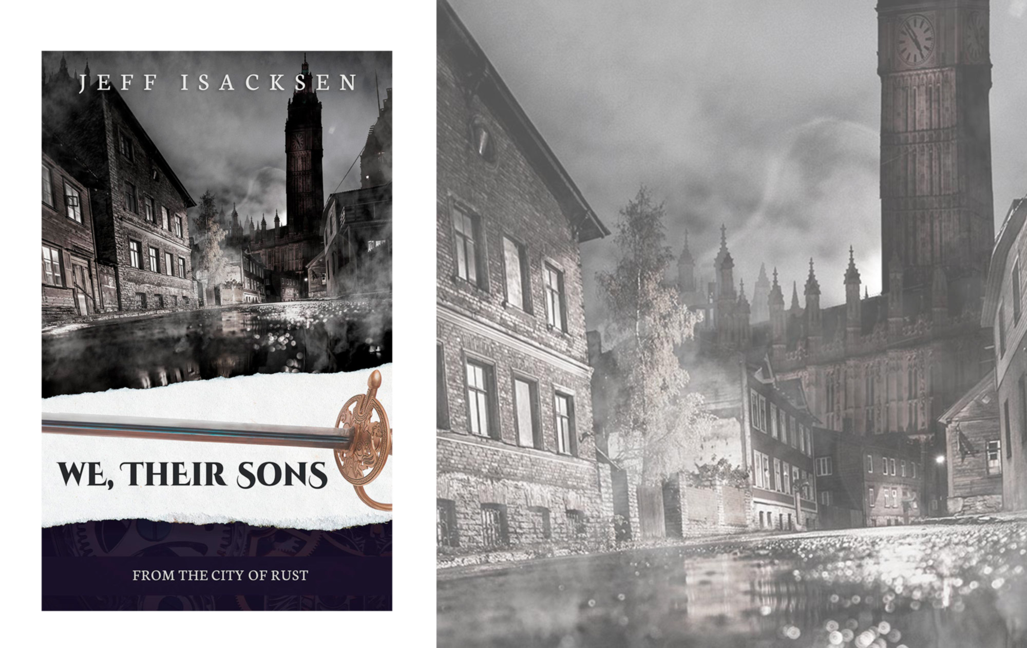 """We, Their Sons"" Book Cover"